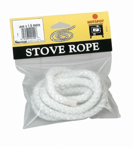 Stove Rope 12mm x 1.5 Metre Suitable for most Solid Fuel Stoves & Boilers